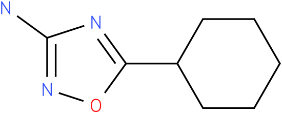 5-cyclohexyl-1,2,4-oxadiazol-3-amine