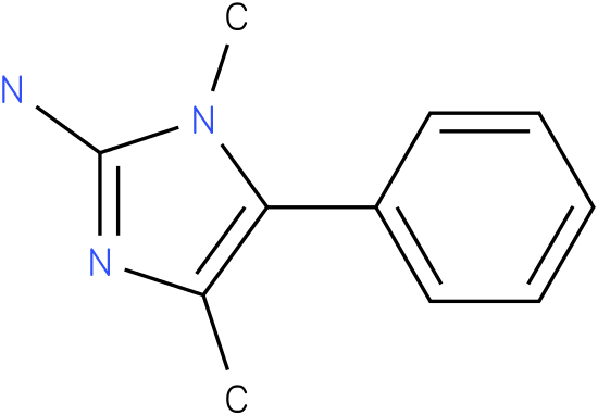 1,4-dimethyl-5-phenyl-1H-imidazol-2-amine
