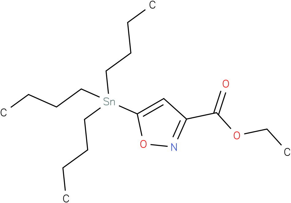 ETHYL 5-(TRIBUTYLSTANNYL)ISOXAZOLE-3-CARBOXYLATE