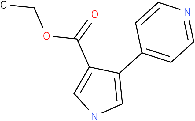 ETHYL 4-PYRIDIN-4-YL-1H-PYRROLE-3-CARBOXYLATE