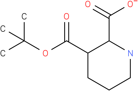 (2S,3S)-3-(tert-butoxycarbonyl)piperidine-2-carboxylic acid