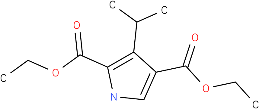 DIETHYL 3-ISOPROPYL-1H-PYRROLE-2,4-DICARBOXYLATE
