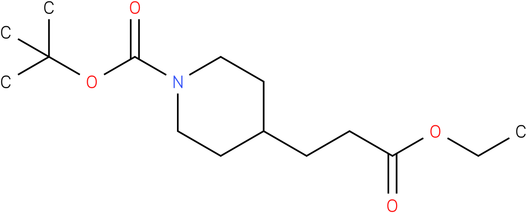tert-butyl 4-(3-ethoxy-3-oxopropyl)piperidine-1-carboxylate
