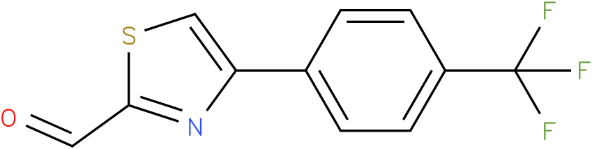 4-(4-TRIFLUOROMETHYL-PHENYL)-THIAZOLE-2-CARBALDEHYDE