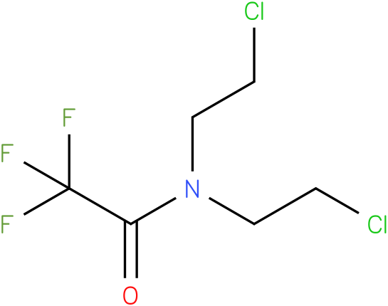 N,N-bis(2-chloroethyl)-2,2,2-trifluoroacetamide