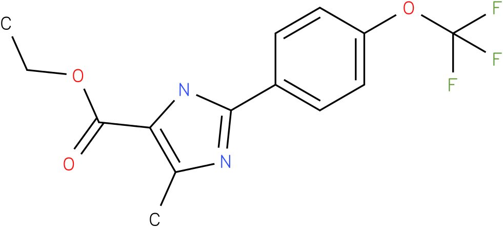 5-METHYL-2-(4-TRIFLUOROMETHOXYPHENYL)-3H-IMIDAZOLE-4-CARBOXYLIC ACID ETHYL ESTER
