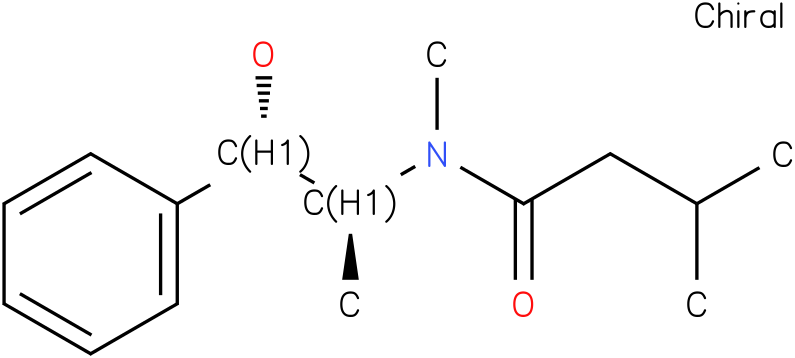N-((1S,2S)-1-hydroxy-1-phenylpropan-2-yl)-N,3-dimethylbutanamide