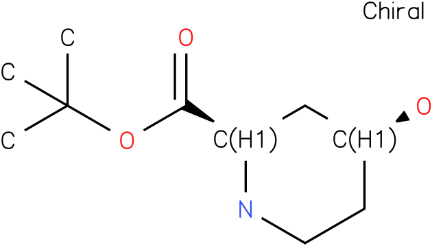 (2R,4S)-tert-butyl 4-hydroxypiperidine-2-carboxylate