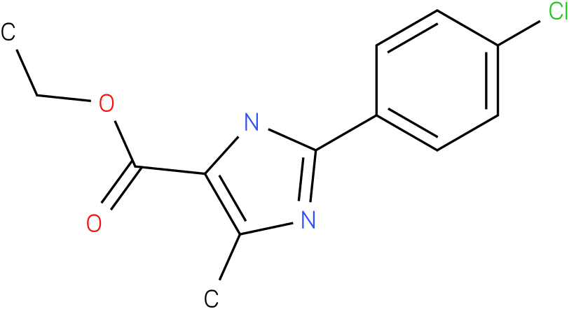 2-(4-CHLOROPHENYL)-5-METHYL-3H-IMIDAZOLE-4-CARBOXYLIC ACID ETHYL ESTER