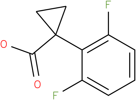 1-(2,6-difluorophenyl)cyclopropanecarboxylic acid