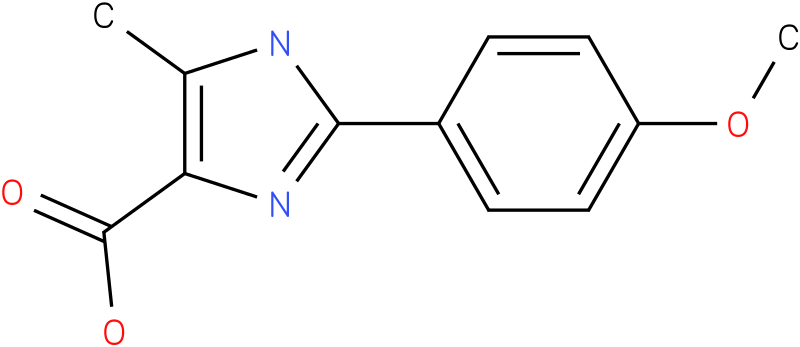 2-(4-METHOXYPHENYL)-5-METHYL-3H-IMIDAZOLE-4-CARBOXYLIC ACID