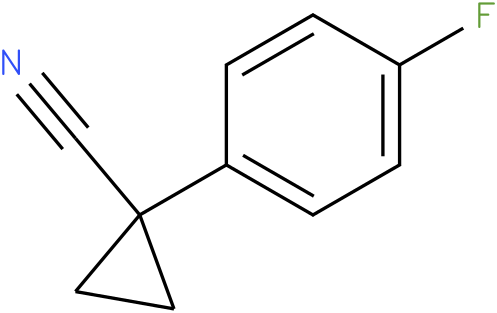 1-(4-fluorophenyl)cyclopropanecarbonitrile