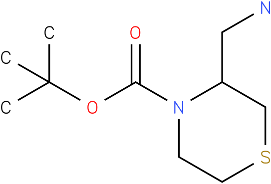 3-Aminomethyl-thiomorpholine-4-carboxylic acid tert-butyl ester