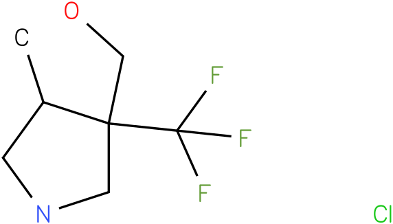 (4-Methyl-3-trifluoromethyl-pyrrolidin-3-yl)-methanol hydrochloride