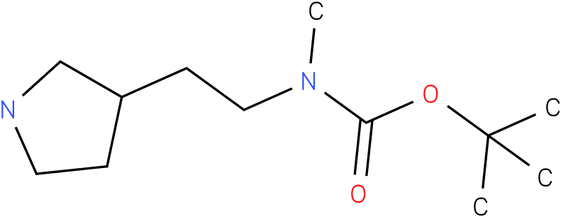 Methyl-(2-pyrrolidin-3-yl-ethyl)-carbamic acid tert-butyl ester