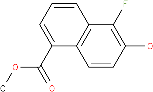 5-Fluoro-6-hydroxy-naphthalene-1-carboxylic acid methyl ester