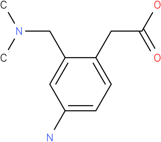 (4-Amino-2-dimethylaminomethyl-phenyl)-acetic acid