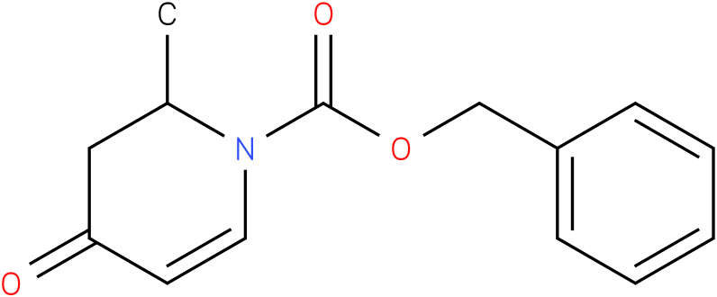 Benzyl 2-methyl-4-oxo-3,4-dihydropyridine-1(2H)-carboxylate