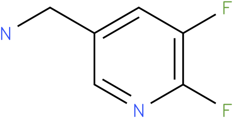 (5,6-Difluoro-pyridin-3-yl)-methylamine
