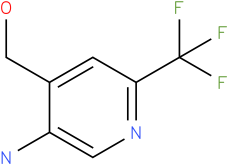 (5-Amino-2-trifluoromethyl-pyridin-4-yl)-methanol