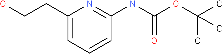 [6-(2-Hydroxy-ethyl)-pyridin-2-yl]-carbamic acid tert-butyl ester