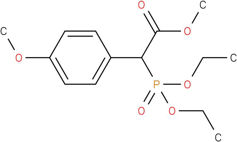 (Diethoxy-phosphoryl)-(4-methoxy-phenyl)-acetic acid methyl ester