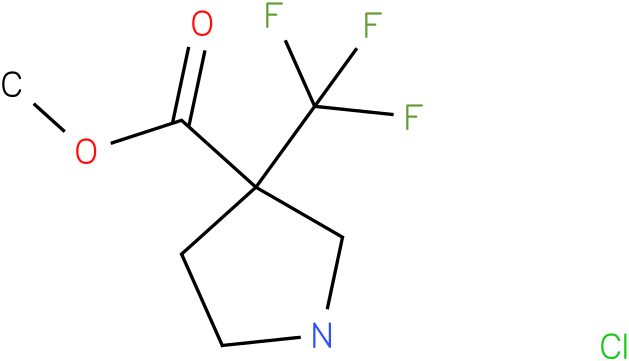 3-Trifluoromethyl-pyrrolidine-3-carboxylic acid methyl ester hydrochloride