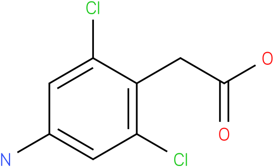 (4-Amino-2,6-dichloro-phenyl)-acetic acid