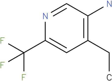 4-Ethyl-6-trifluoromethyl-pyridin-3-ylamine