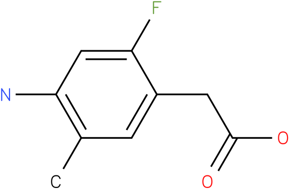 (4-Amino-2-fluoro-5-methyl-phenyl)-acetic acid