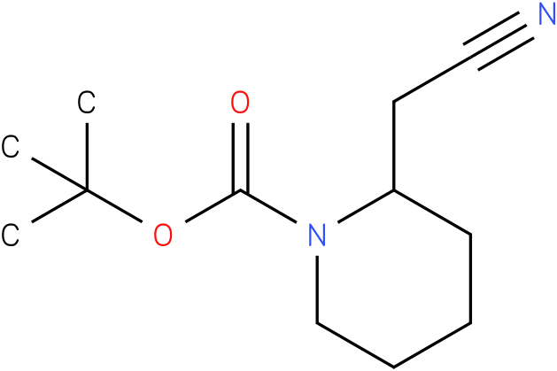 tert-butyl 2-(cyanomethyl)piperidine-1-carboxylate