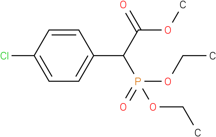 (Diethoxy-phosphoryl)-(4-chloro-phenyl)-acetic acid methyl ester