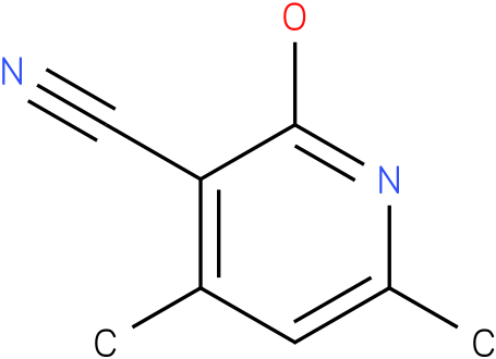 2-hydroxy-4,6-dimethyl-nicotinonitrile