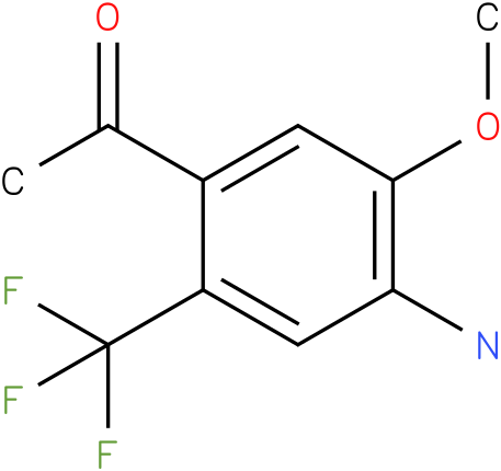 1-(4-Amino-5-methoxy-2-trifluoromethyl-phenyl)-ethanone