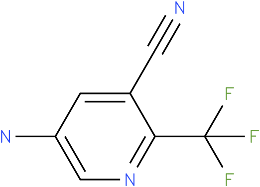 5-amino-2-(trifluoromethyl)pyridine-3-carbonitrile
