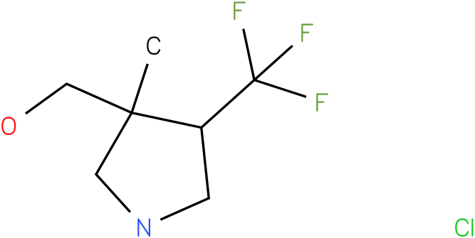 (3-Methyl-4-trifluoromethyl-pyrrolidin-3-yl)-methanol hydrochloride