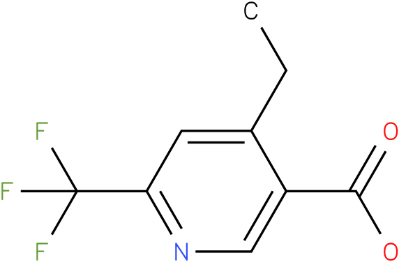 4-Ethyl-6-trifluoromethyl-nicotinic acid
