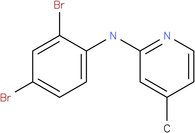 (2,4-Dibromo-phenyl)-(4-methyl-pyridin-2-yl)-amine