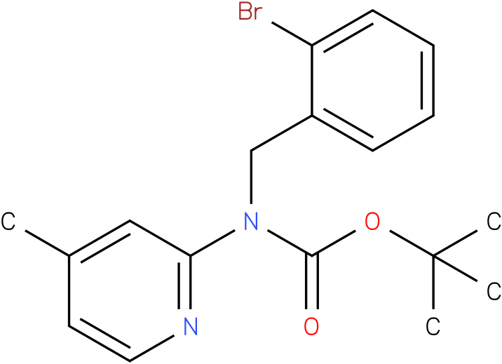 (2-Bromo-benzyl)-(4-methyl-pyridin-2-yl)-carbamic acid tert-butyl ester