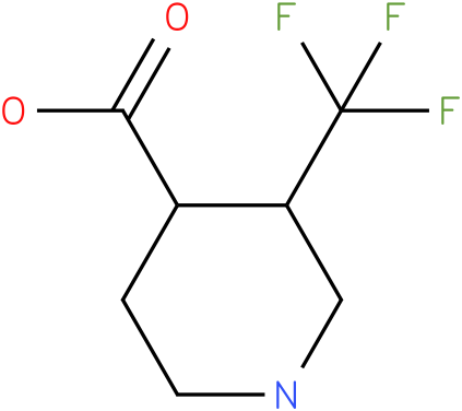 3-Trifluoromethyl-piperidine-4-carboxylic acid