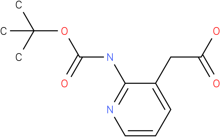 (2-tert-Butoxycarbonylamino-pyridin-3-yl)-acetic acid