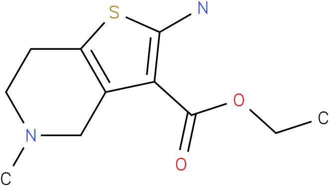 Ethyl 2-Amino-5-methyl-4,5,6,7-tetrahydrothieno[3,2-C]pyridine-3-carboxylate