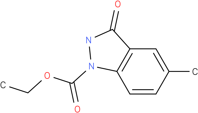 1H-INDAZOLE-1-CARBOXYLIC ACID,2,3-DIHYDRO-5-METHYL-3-OXO-,ETHYL ESTER