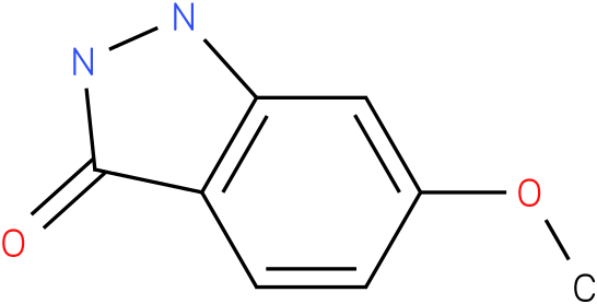 3H-INDAZOL-3-ONE,1,2-DIHYDRO-6-METHOXY