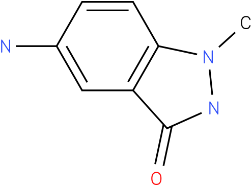 3H-INDAZOL-3-ONE,5-AMINO-1,2-DIHYDRO-1-METHYL