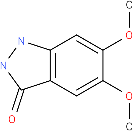 3H-INDAZOL-3-ONE,1,2-DIHYDRO-5.6-DIMETHOXY