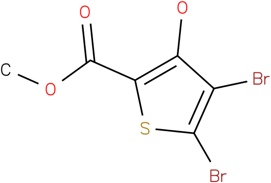 METHYL 4,5-DIBROMO-3-HYDROXYTHIOPHENE-2-CARBOXYLATE