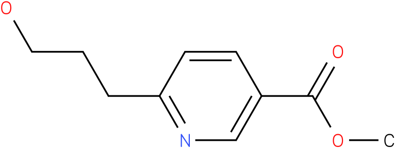 methyl 6-(3-hydroxypropyl)nicotinate