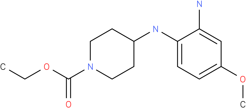 1-PIPERIDINECARBOXYLIC ACID,4-[(2-AMINO-4-METHOXYPHENYL)AMINO]-,ETHYL ESTER