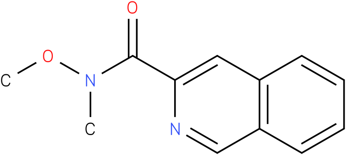 N-methoxy-N-methylisoquinoline-3-carboxamide